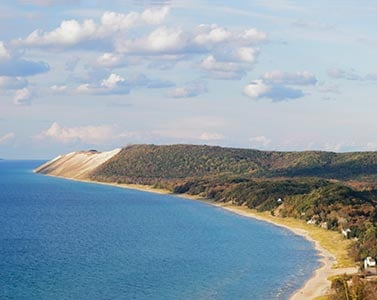 Sleeping bears dunes National Lakeshore