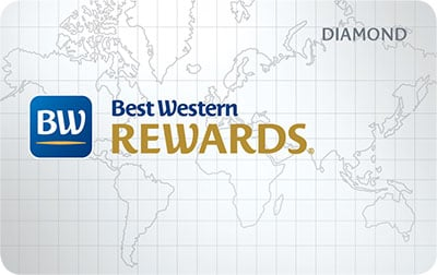 Best Western Diamond Card Image