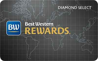 Best Western Rewards Diamond Select Card Image