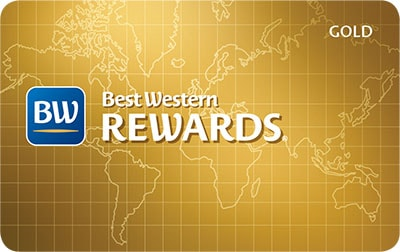Best Western Rewards Gold Level Card