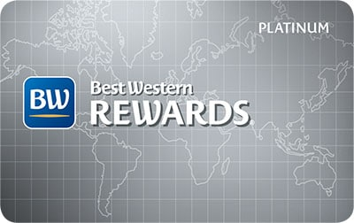 Best Western Rewards Platinum Card Image